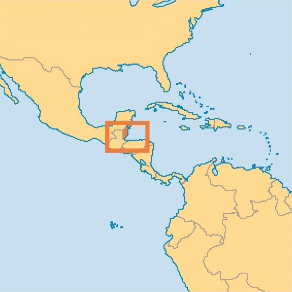 Belize World Map Belize Location On World Map Central America